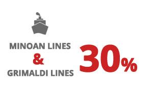 Traghetti Ancona – Igoumenitsa - Minoan Lines 2018 – Combinazione Grimaldi Lines-Minoan Lines